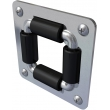 4RB-SS - Stainless Steel 4 Way Roller Bracket