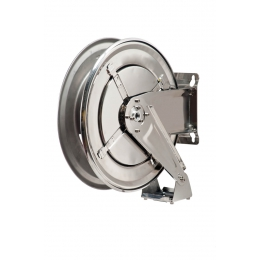 ME-070-2209-400 Hose Reel Stainless Steel FX400 A-W-ADB For 12 mm ID Without Hose