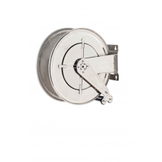 ME-070-2508-600 Diesel Hose Reel Stainless Steel FX-555 For 25mm ID Without Hose