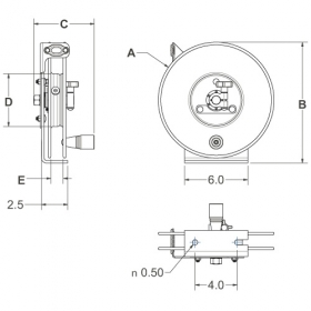 EZ-SDL-100 Static Discharge Reel