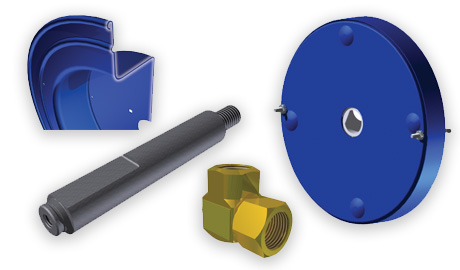 hose reel components